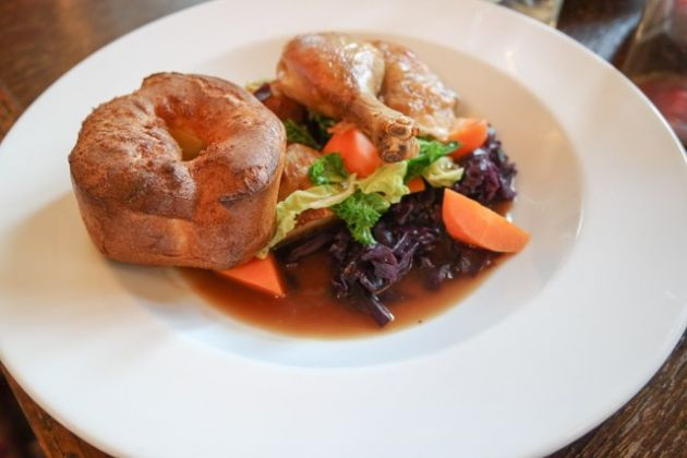 The Shortlands Tavern, Bromley, Kent - Children's Roast Chicken