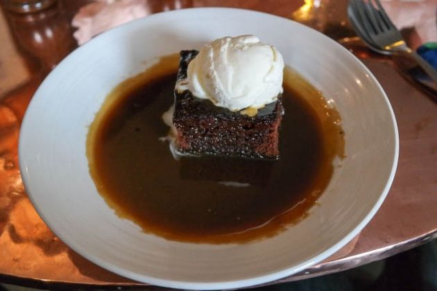 The Dirty Habit, Hollingbourne - Treacle Sponge Pudding