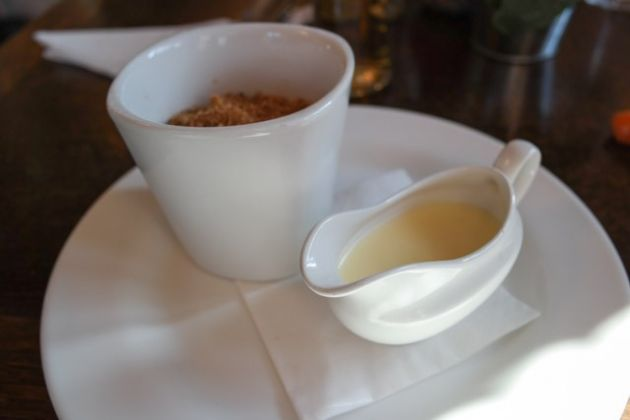 The Shortlands Tavern, Bromley, Kent - Crumble Dessert
