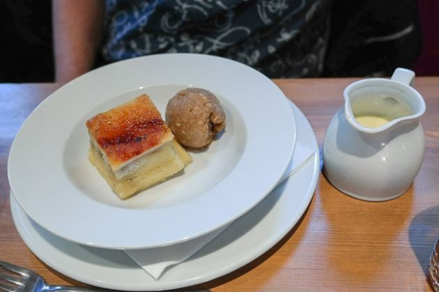 The Bull Hotel, Wrotham - Bread & Butter Pudding