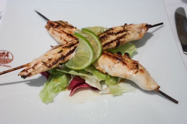 Don Giovanni, Bromley in Kent - Chicken Skewers starter