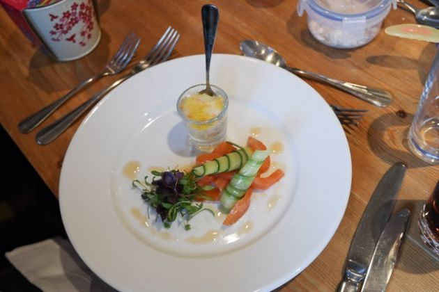 The Bull Hotel, Wrotham - Salmon Starter