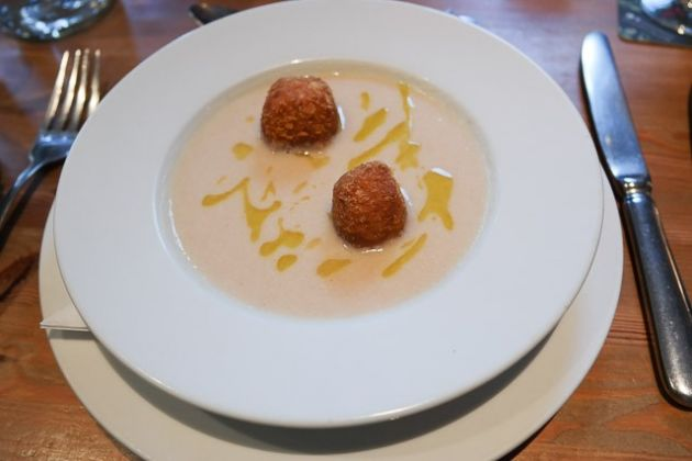 The Bull Hotel, Wrotham - Oxtail Croquette Starter