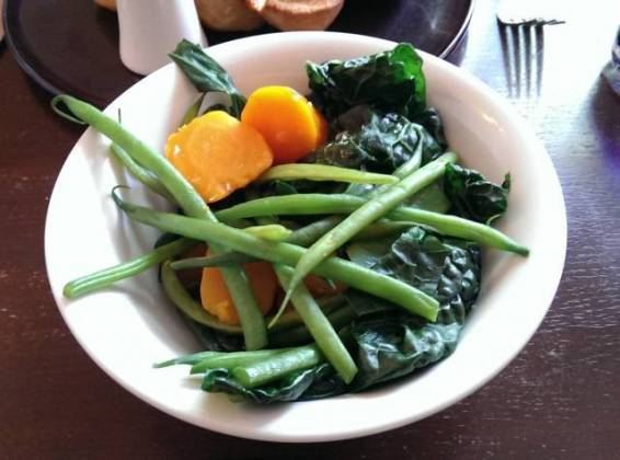 The Crown & Castle, Orford - Vegetables