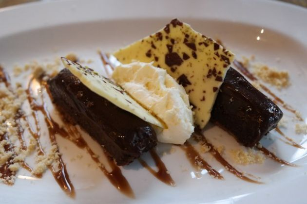 The Tigers Head, Chislehurst in Bromley, Kent - Chocolate Orange Truffle Torte