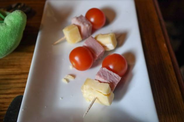 The Grasshopper Inn, Westerham, Kent - Ham, Cheese and Cherry Tomato