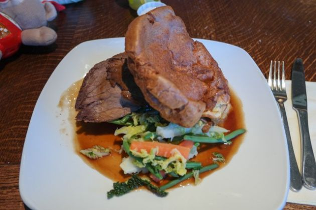 Rose and Crown, Farnborough in Kent - Roast Beef