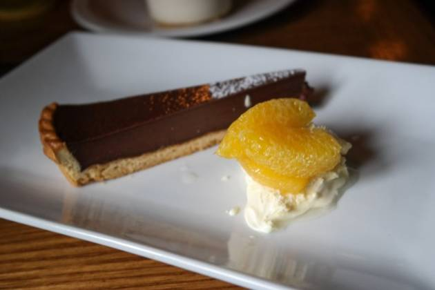 The Grasshopper Inn, Westerham, Kent - Bitter Chocolate Tart