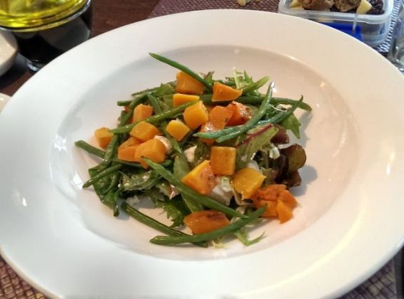 Sands at Bleak House, Woking - Butternut Squash Salad