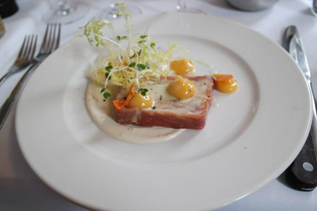 The Gun, Docklands in London - Chicken Terrine Starter