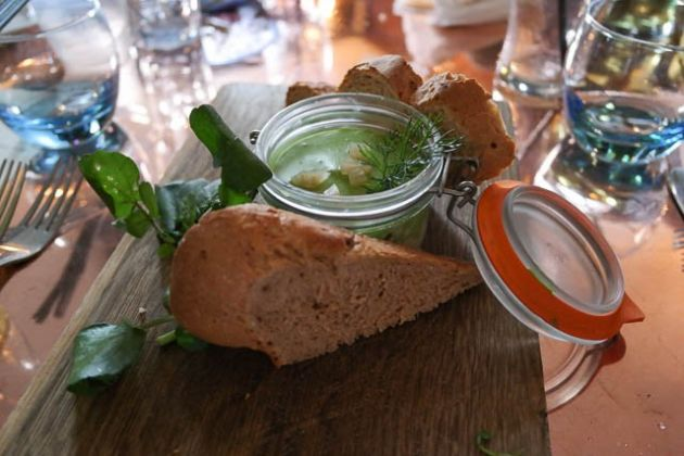 The Dirty Habit, Hollingbourne - Potted Salmon