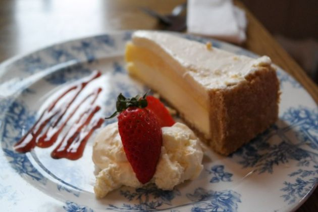 The Tigers Head, Chislehurst in Bromley, Kent - Baked Lemon Cheesecake