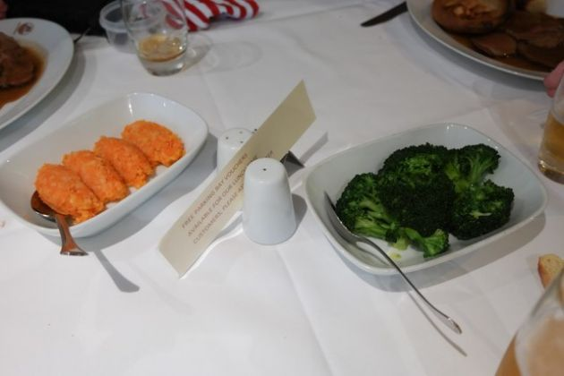 Don Giovanni, Bromley in Kent - Vegetable Selection
