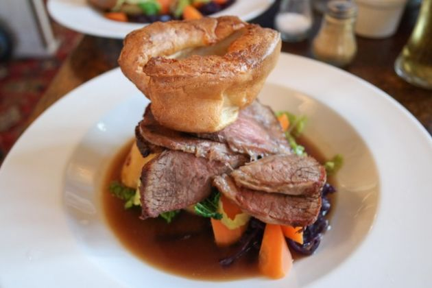 The Shortlands Tavern, Bromley, Kent - Roast Beef