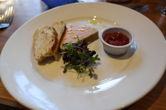 The Bull Hotel, Wrotham - Liver Parfait Starter