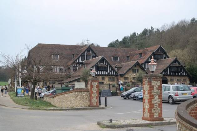 The Grasshopper Inn, Westerham, Kent