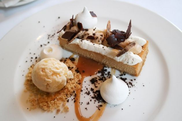 The Gun, Docklands in London - Banoffee Cheesecake