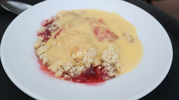 Apple & Cherry Crumble - Theydon Oak, Epping in Essex
