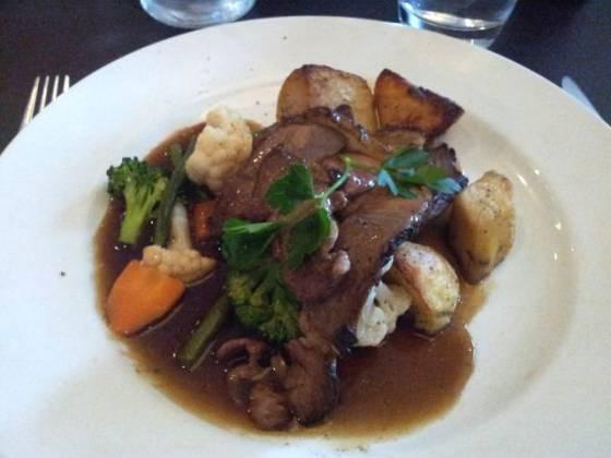 Aqua, Bromley - Roast Lamb