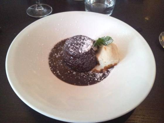 Aqua, Bromley - Sticky Toffee Pudding