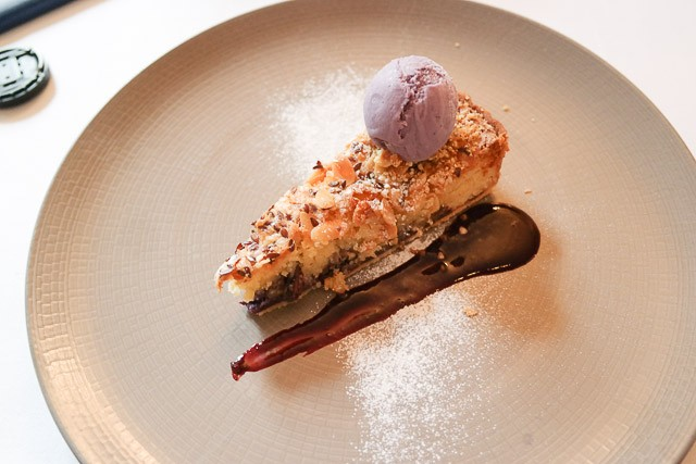Blueberry Bakewell Tart - Topes in Rochester, Kent