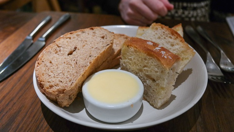 Bread Selection - The Swan, West Malling in Kent