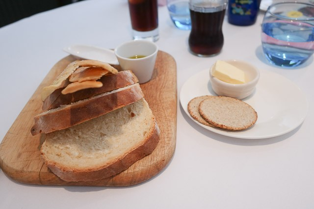 Bread Selection, including gluten free crackers - East Coast Din