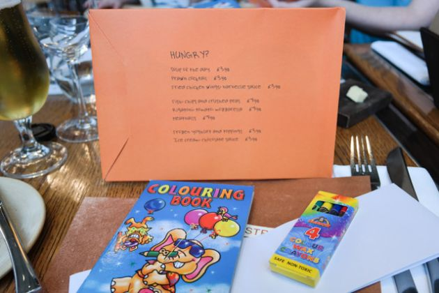 Bread Street Kitchen, St Pauls, London - Children's Menu