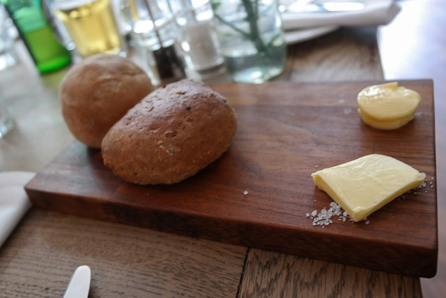 Bread, butter and smoked butter - Deesons in Canterbury, Kent