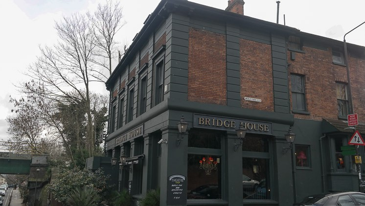 Bridge House in Penge, Lewisham, London