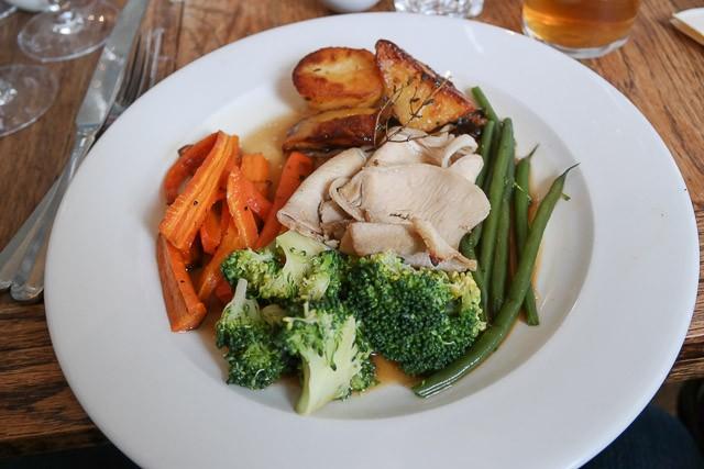 Celery Salt Roasted Pork - The Milk House, Sissinghurst