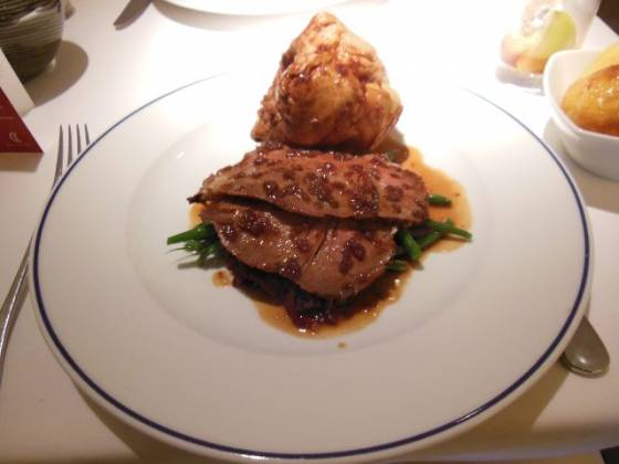 Chapter One, Farnborough in Bromley, Kent - Roast Beef