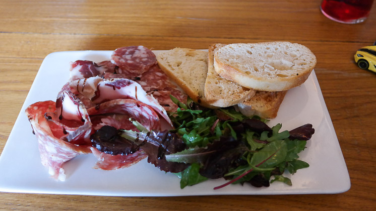 Charcuterie Starter - The Moody Mare, Mereworth nr West Malling, Kent