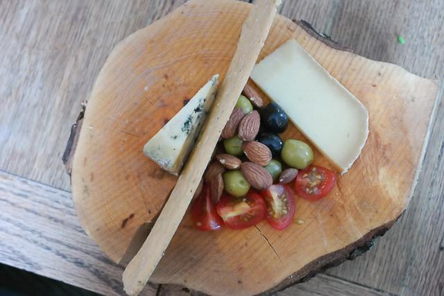 Cheese board - The Milk House, Sissinghurst