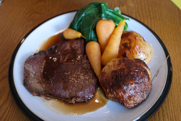 Child Roast Beef - The Crooked Well, Camberwell in London