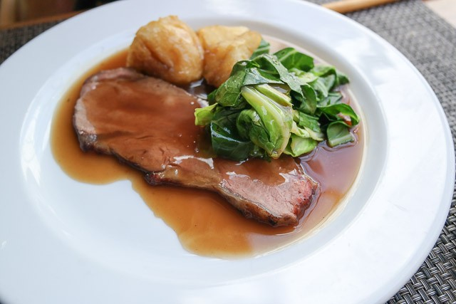 Child's Roast Beef - Charlotte's Bistro in Chiswick, London