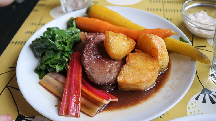 Child's Roast Beef - The Ship Inn, Rye in East Sussex