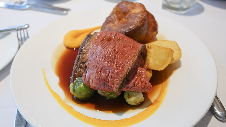 Child's Roast Beef - The Vine Restaurant in Sevenoaks, Kent