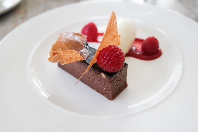 Chocolate Delice - The Gallivant, Camber near Rye, Kent