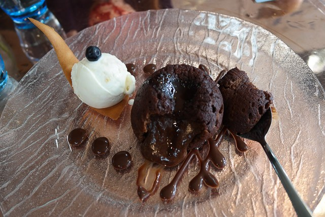 Chocolate Fondant -  - The Great House, Hawkhurst in Kent