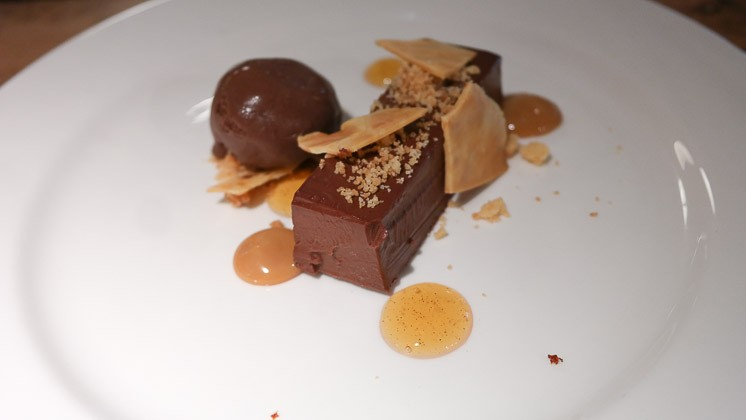 Chocolate Torte - The Swan at Chapel Down, Tenterden in Kent