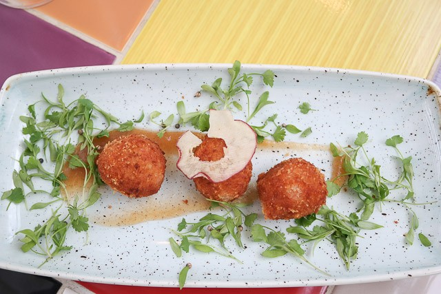Chorizo & Cheese Croquettes - The Bulls Head Hotel, Bromley