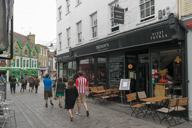 Deesons in Canterbury, Kent