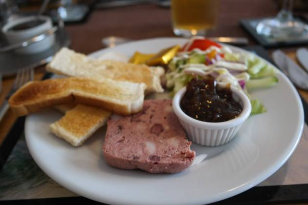 Dunes Bar and Restaurant, Camber nr Rye - Boar Pate