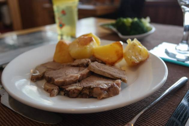 Dunes Bar and Restaurant, Camber nr Rye - Children's Roast Lamb