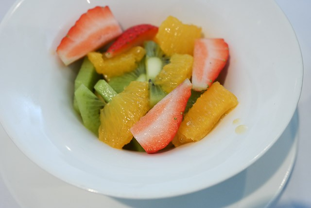 Fruit Salad - East Coast Dining Room, Tankterton nr Canterbury