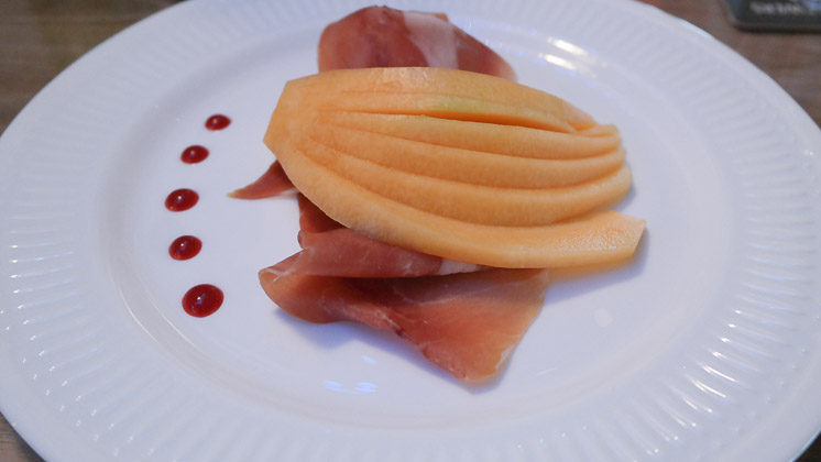 Ham and Melon - The Two Brewers in Shoreham near Sevenoaks, Kent