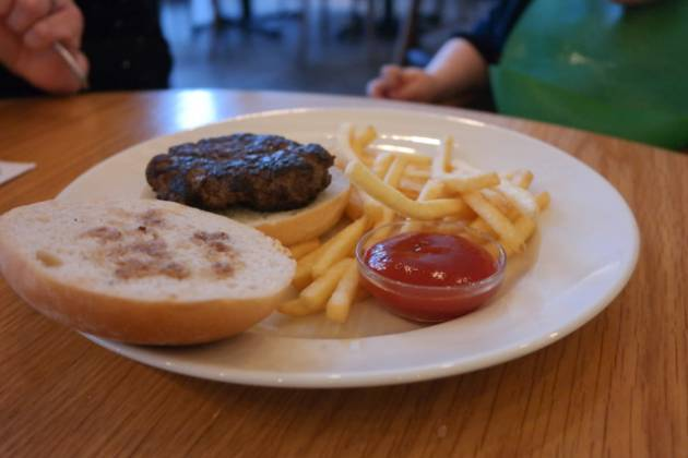 Hixster in Bankside, London - Children's Burger