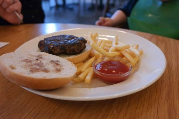 Hixster in Bankside, London - Children's Burger