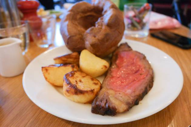 Hixster in Bankside, London - Roast Beef